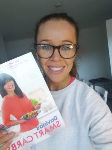 donna dunne fitness holding davina mccall cook book